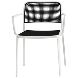 KARTELL set of 2 armchairs AUDREY