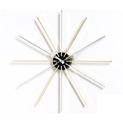 VITRA wall clock STAR CLOCK