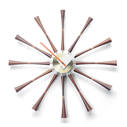 VITRA wall clock SPINDLE CLOCK