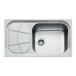 FOSTER sink BIG BOWL 86.1V.STD 1 bowl + drainer