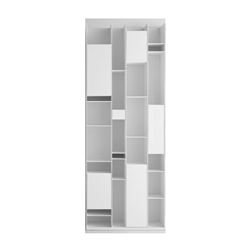 MDF ITALIA wall bookcase with compartments RANDOM BOX