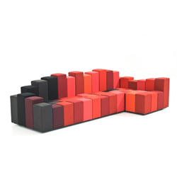 MOROSO sofa with angular DO-LO-REZ