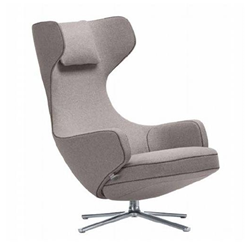 VITRA swivel lounge chair GRAND REPOS