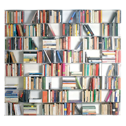 KRIPTONITE wall bookcases KROSSING 200 x H 200 cm