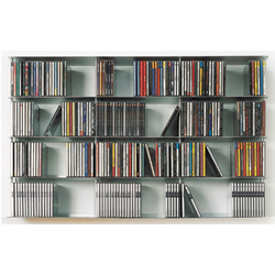KRIPTONITE wall cd rack KROSSING 100 x 60 cm