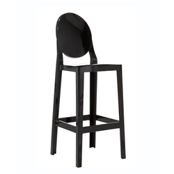 KARTELL set of 2 stools ONE MORE H 75 cm