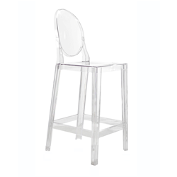 KARTELL set of 2 stools ONE MORE H 65 cm