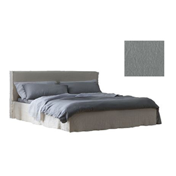 GERVASONI double bed BRICK 80 E with slat 160 x 200 cm