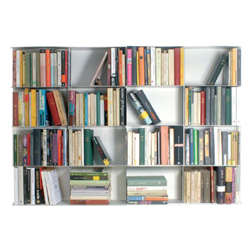 KRIPTONITE wall bookcases KROSSING 133 x H 100 cm