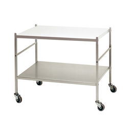 KRIPTONITE trolley with two shelves