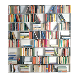 KRIPTONITE wall bookcases KROSSING 166 x H 200 cm