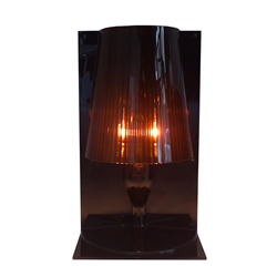 KARTELL table lamp TAKE (Amber - Transparent polycarbonate ...