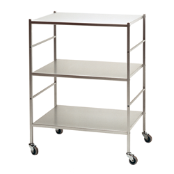 KRIPTONITE trolley with three shelves