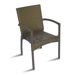 GREENWOOD outdoor stacking armchair LE HAVRE