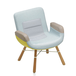 VITRA poltrona EAST RIVER CHAIR