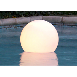 SLIDE floating lamp for outdoor ACQUAGLOBO
