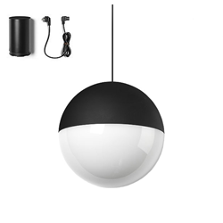 FLOS lampada a sospensione STRING LIGHT SFERA 22 metri con FLOOR SWITCH