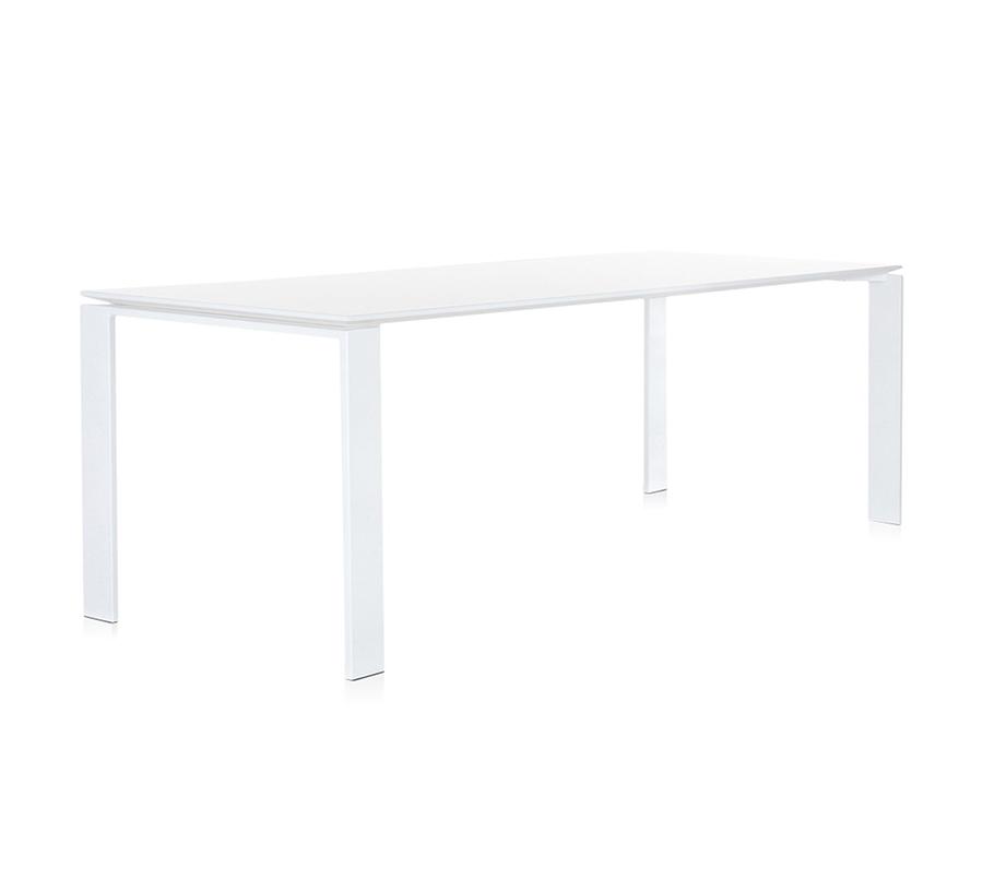 Kartell tavolo da esterni four outdoor l 223 cm acciaio - Tavolo four kartell prezzo ...