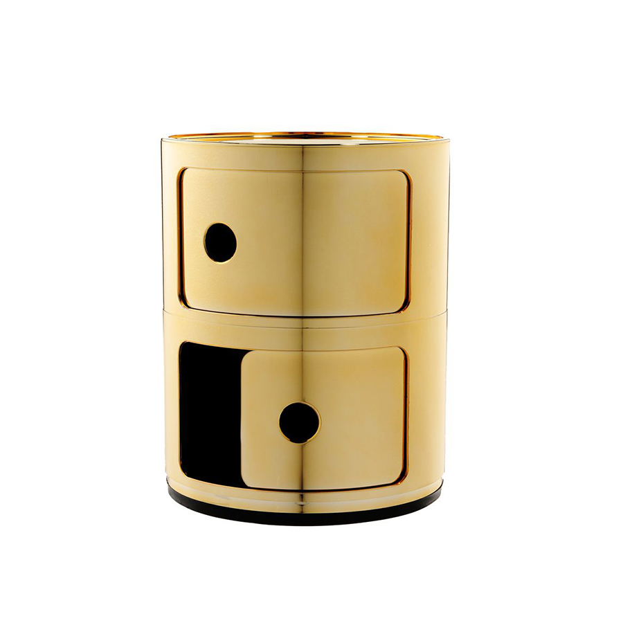 Kartell Componibili Two Elements Metal Precious Collection