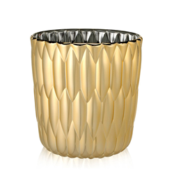 KARTELL vaso JELLY METALLIZZATO PRECIOUS COLLECTION