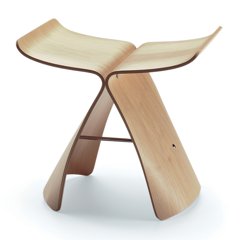 vitra sgabello butterfly stool. Black Bedroom Furniture Sets. Home Design Ideas