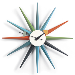 VITRA wall clock SUNBURST CLOCK
