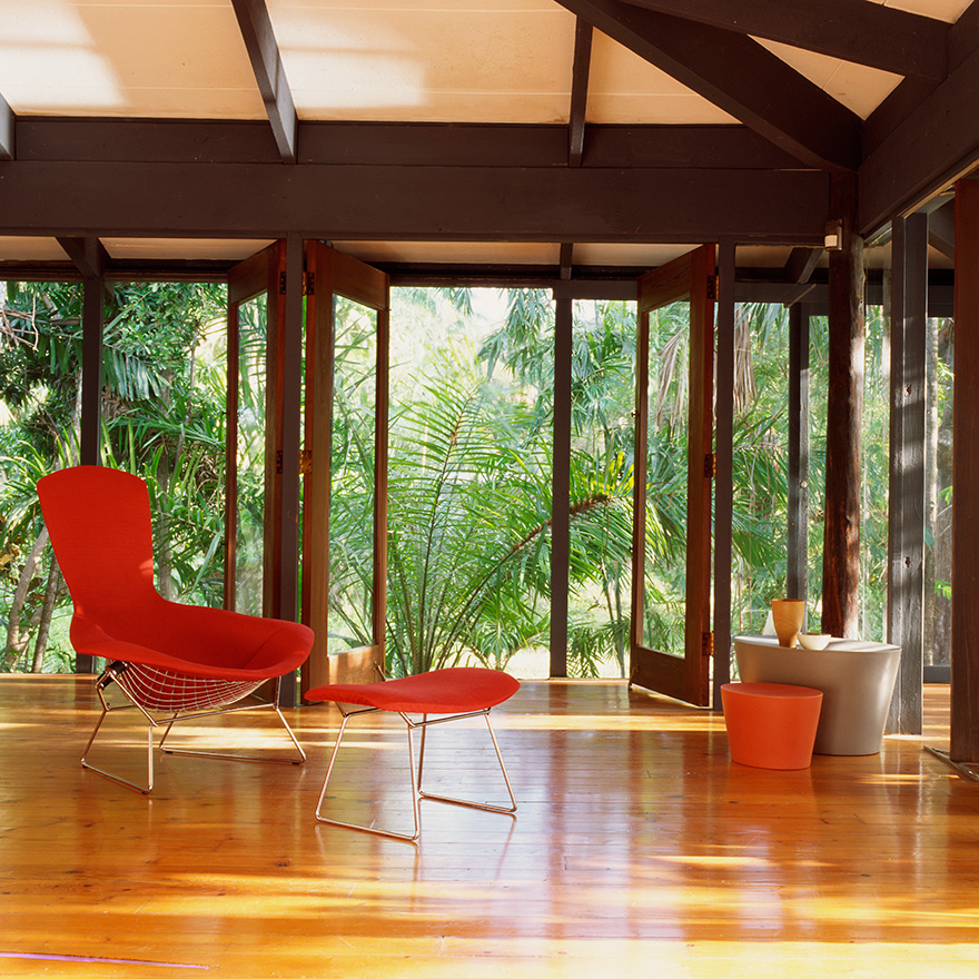 knoll poltrona relax completamente rivestita bertoia. Black Bedroom Furniture Sets. Home Design Ideas