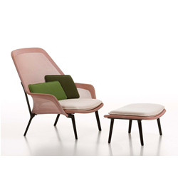 VITRA poltrona SLOW CHAIR & OTTOMAN