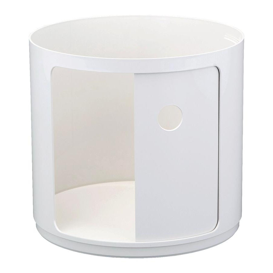 Kartell Componibili One Element No Cover White 4955 Abs