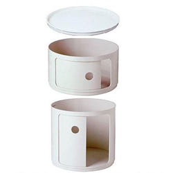 KARTELL bedside COMPONIBILI single element (no cover)