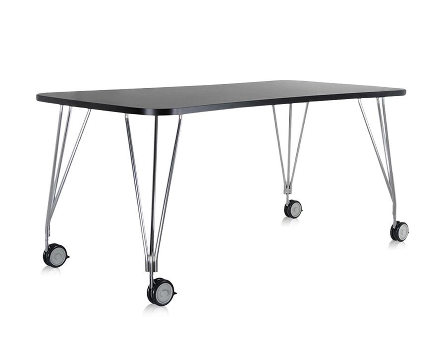Kartell tavolo con ruote max myareadesign