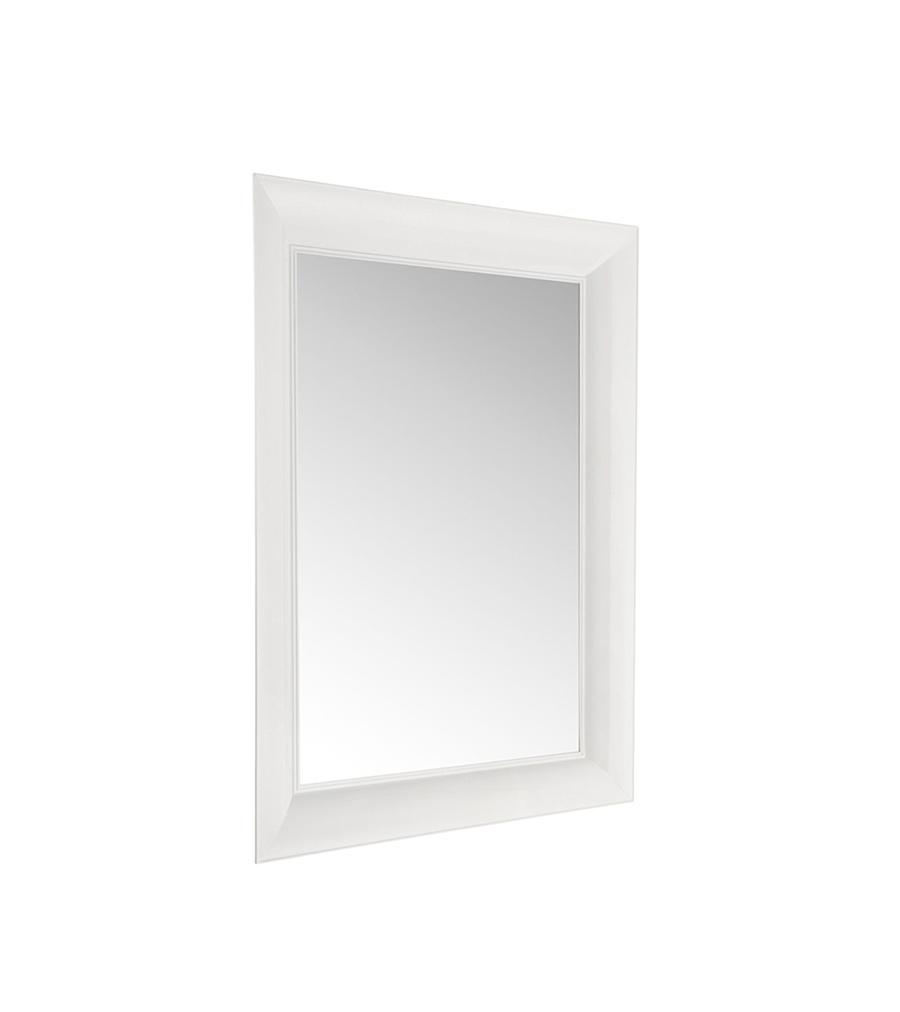 Kartell specchio fran ois ghost piccolo francois ghost bianco policarbonato colorato in massa - Kartell specchio ghost ...