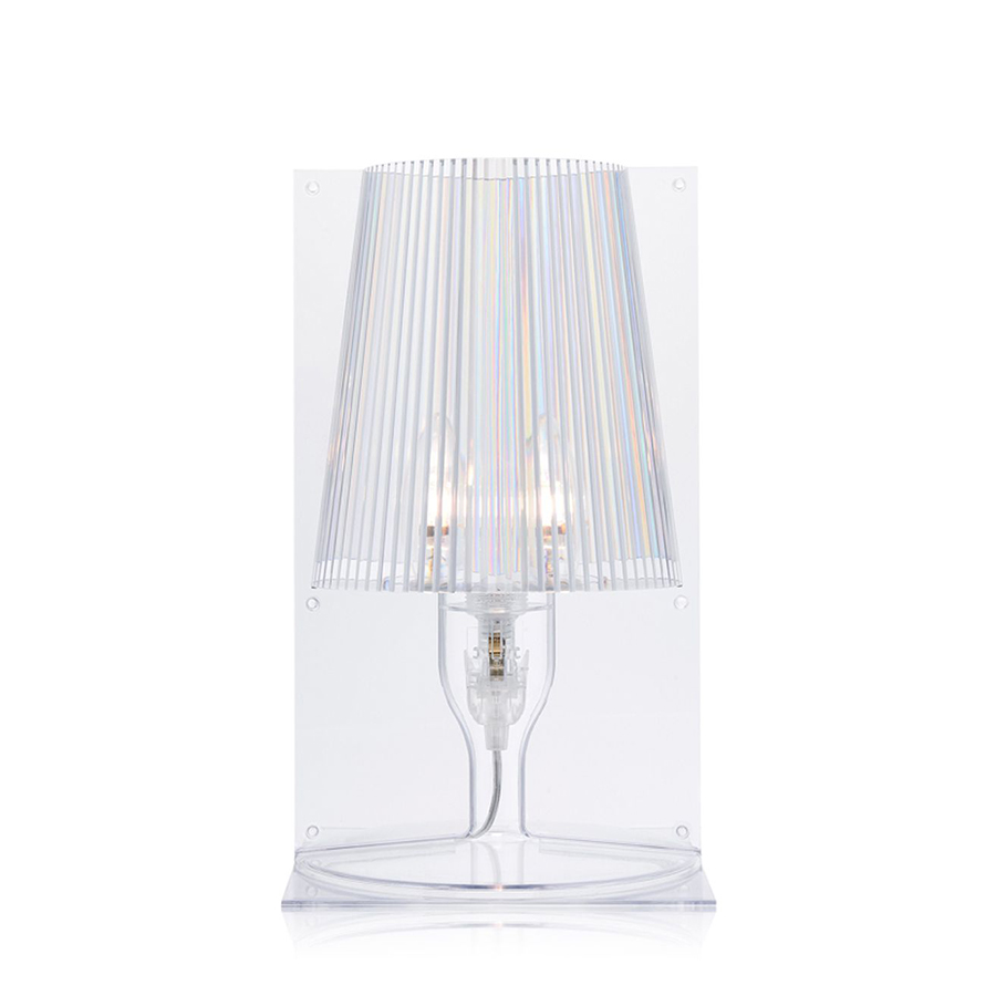 Lampada da tavolo Take di Kartell in policarbonato