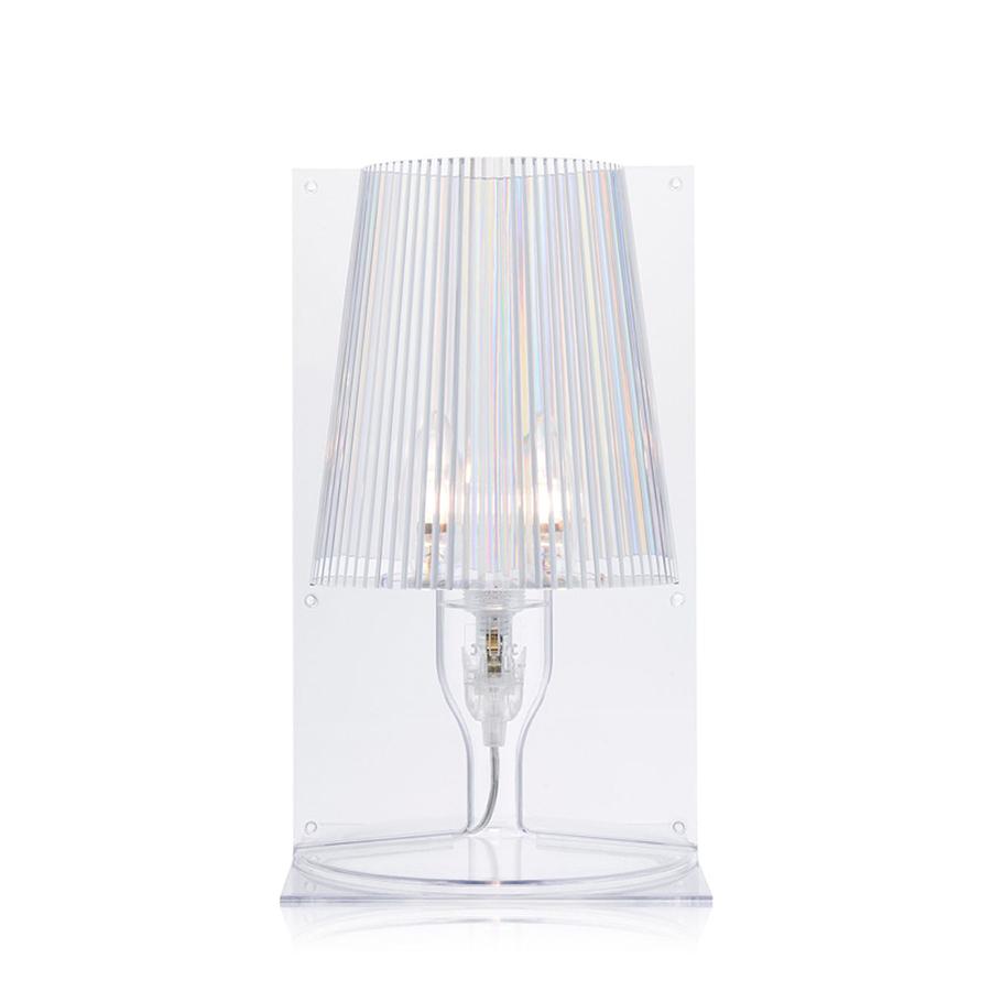 KARTELL lampada da tavolo TAKE (Trasparente - Policarbonato ...