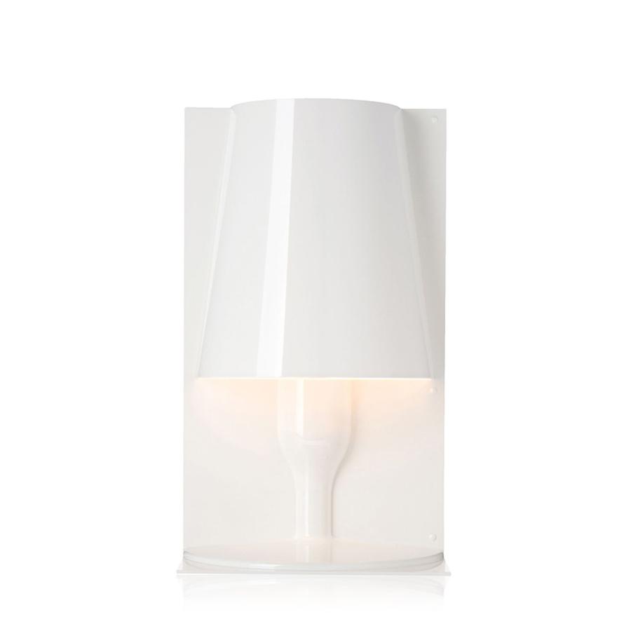 KARTELL lampada da tavolo TAKE (Bianco lucido - Policarbonato ...
