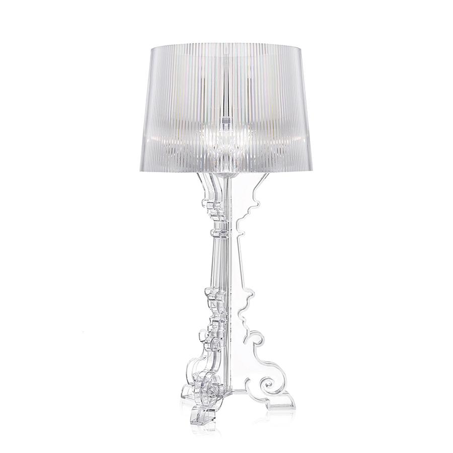 Kartell lampada da tavolo bourgie trasparente - Lampade kartell da tavolo ...