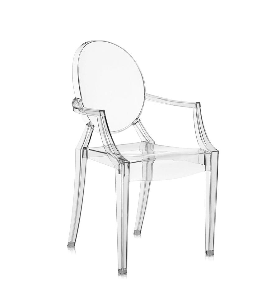 Kartell sedia per bambini lou lou ghost piccola design by - Sedia ghost philippe starck ...