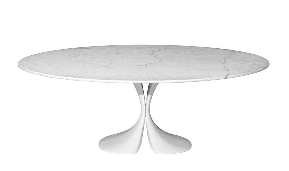 Driade tavolo ovale didymos for Tavolo driade