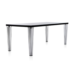 KARTELL Table TOP TOP plateau en verre dim. 190x72x90