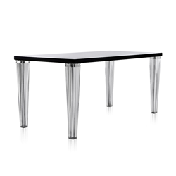 KARTELL Table TOP TOP plateau en verre dim. 160x72x80