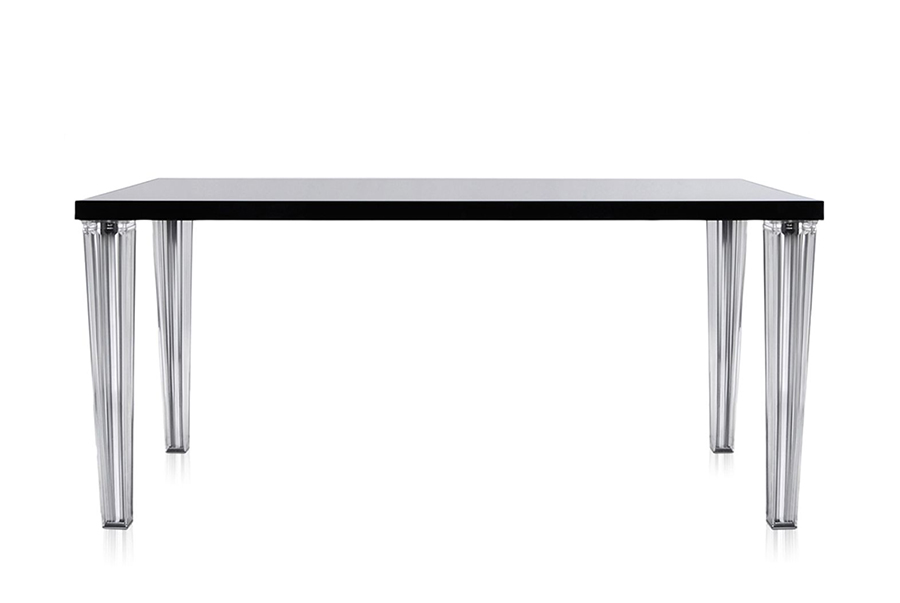 Kartell tavolo top top piano in vetro dim 160x72x80 - Tavolo top top kartell ...