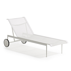 KNOLL chaise longue with wheels 1966 Adjustable Collection Richard Schultz