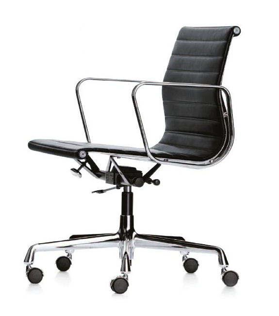 Sedia Eames Ufficio.Vitra Office Chair With Medium High Backrests Aluminium