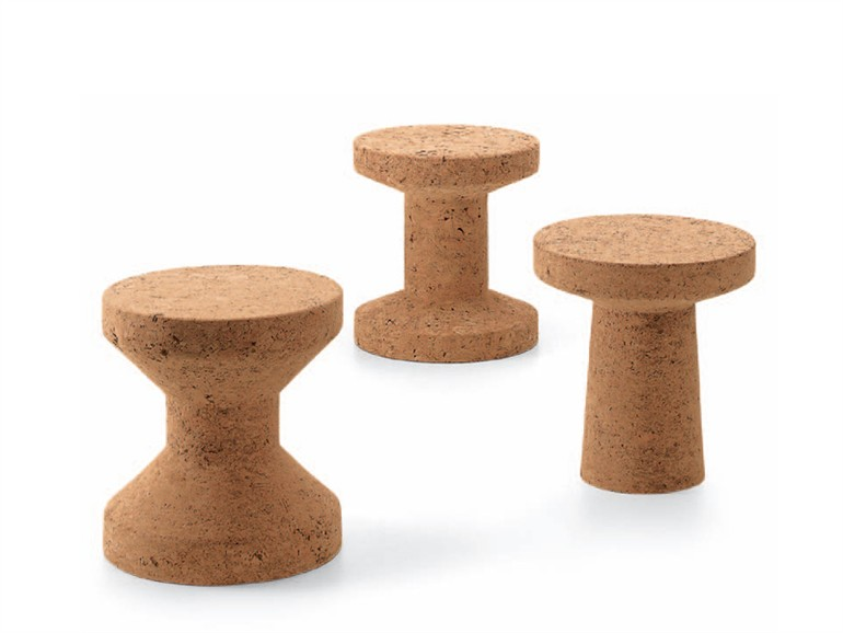 Vitra sgabello tavolino cork family myareadesign
