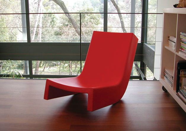 Slide Twistjaune it Chaise Longue PolyéthylèneMyareadesign W9Y2EDHeI