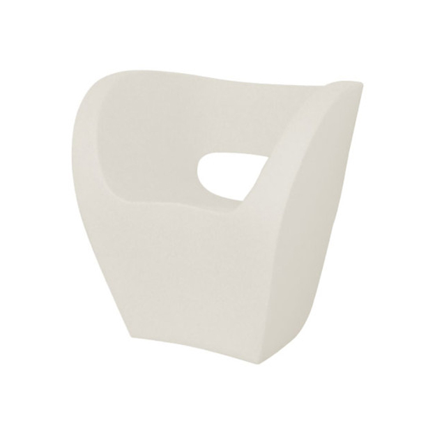 Poltrona Little Albert Moroso.Moroso Armchair Little Albert White Polyethylene