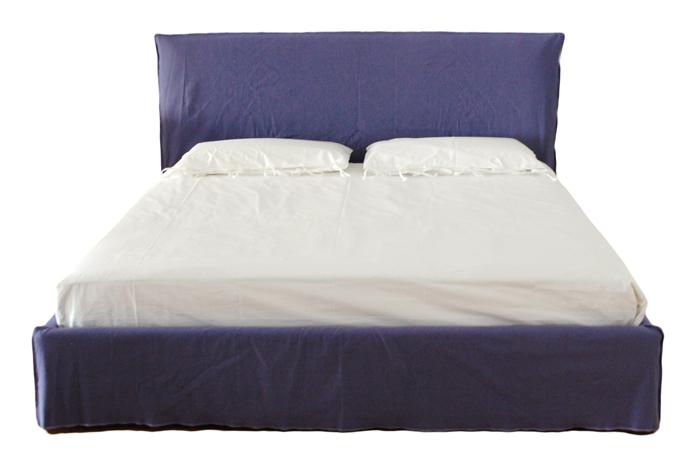 Bedombouw 180 200.Gervasoni Double Bed Ghost 80 G With Slat 180 X 200 Cm Myareadesign It