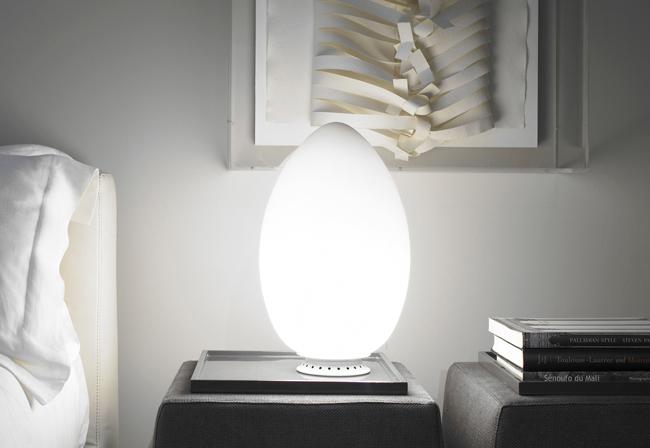 Fontana arte lampada da tavolo uovo - Lampade da tavolo fontana arte ...