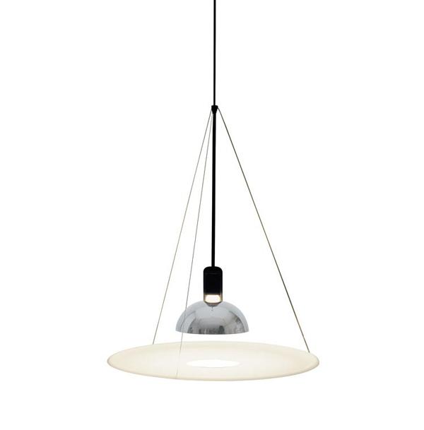 Flos lampada a sospensione frisbi design by achille for Castiglioni lampada