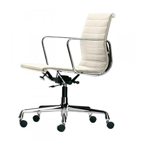 Vitra sedia da ufficio con schienale medio alto aluminium for Sedie vitra ufficio